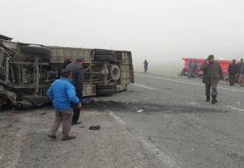 Kayseri Bünyan'da feci kaza!