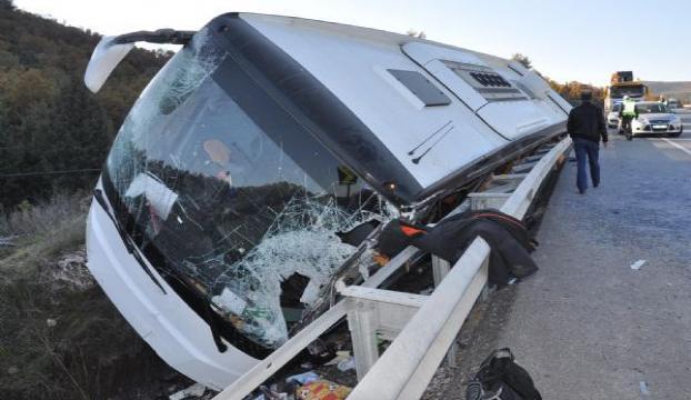 Korkunç kazada 43 öğrenci yaralandı