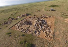 Kazakistan'da bulunan piramit restore edildi