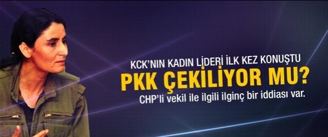 KCK'nın kadın lideri ilk kez konuştu