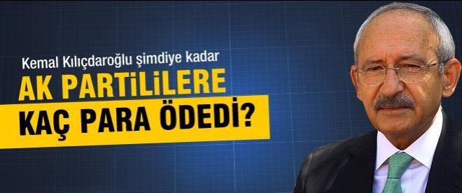 Kılıçdaroğlu AK Parti'ye ne kadar para ödedi?