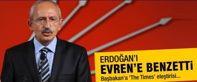 Erdoğan'a 'The Times' eleştirisi
