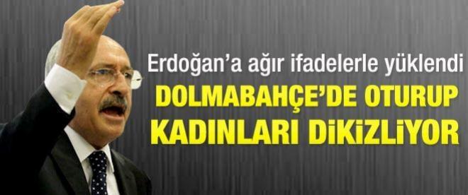 Kılıçdaroğlu'ndan Başbakan Erdoğan'a ağır ifadeler