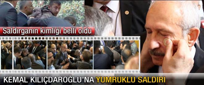 CHP Lideri'ne yumruklu sadırı!