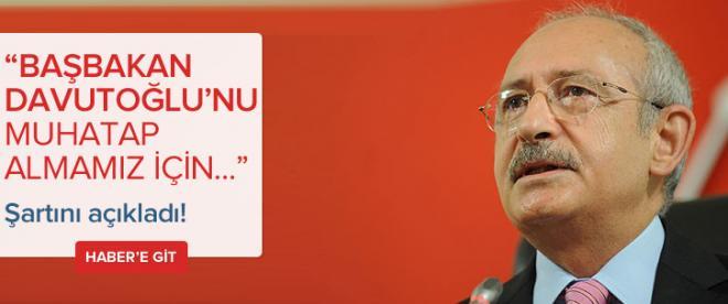 Kılıçdaroğlu'ndan Davutoğlu'na cevap!