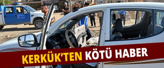 Kerkük'te Türkmen yetkiliye suikast