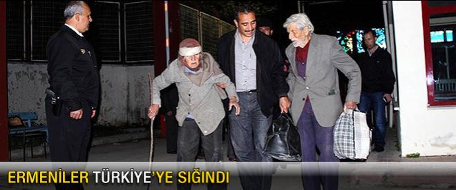 Ermeniler Türkiye'ye sığındı