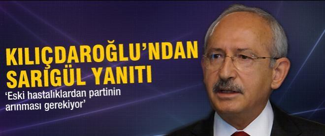 Kılıçdaroğlu'dan Sarıgül yanıtı