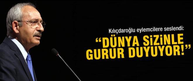 Kılıçdaroğlu, Gezi işgalcilerini bağrına bastı