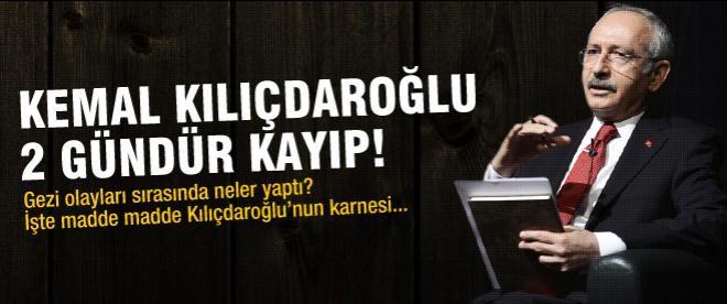 Kılıçdaroğlu iki gündür kayıp