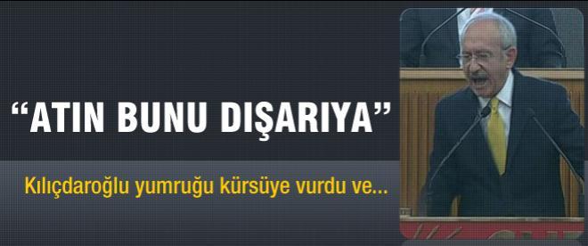 Kılıçdaroğlu gruptan vatandaşı kovdu