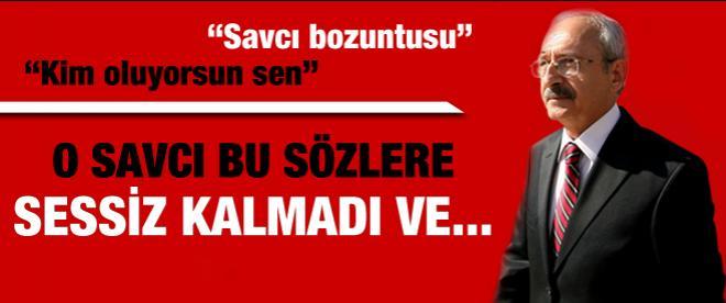 O savcı Kılıçdaroğlu'ndan şikayetçi oldu