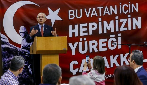 CHP Genel Başkanı Kılıçdaroğlu, şehit yakınları ve gazilerle buluştu