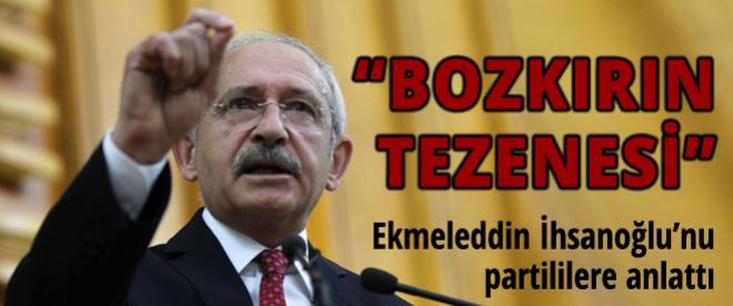 Kılıçdaroğlu, CHP'lilere Ekmeleddin İhsanoğlu'nu anlattı
