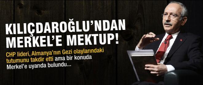 Kılıçdaroğlu'ndan Merkel'e mektup