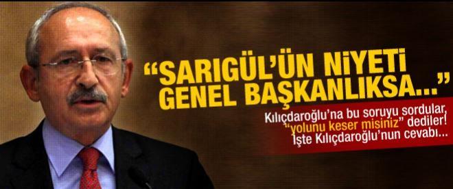 Kılıçdaroğlu'ndan net Sarıgül mesajı