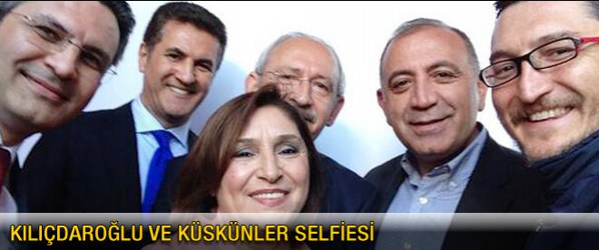 Kılıçdaroğlu ve küskünlerin selfie pozu