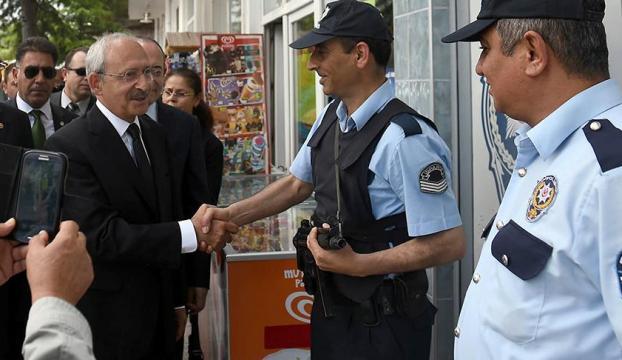 """CHPden polise """"yanınızdayız"""" mesajı"""