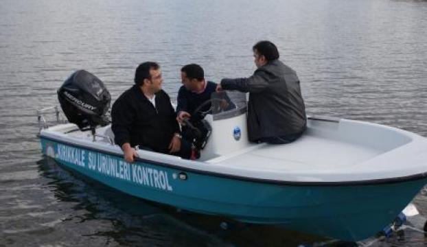 Kırıkkalede kaçak balıkçılarla mücadele için tekne alındı