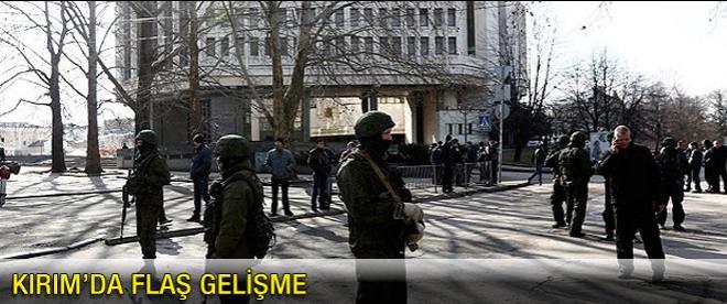 Kırım'da flaş gelişme
