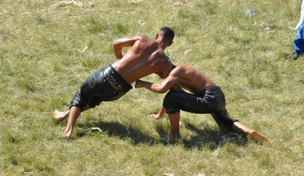 Yağlı güreş UNESCO kampında tanıtıldı