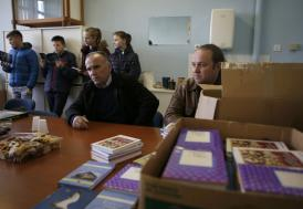 Yüzlerce kitap Bosna Hersekli çocuklara ulaştı