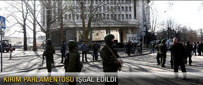 Kırım parlamentosu işgal edildi