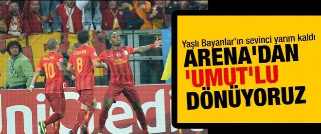 Galatasaray Juventus'la berabere kaldı