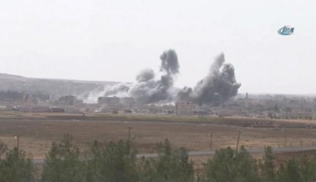 Koalisyon IŞİDi bir kez daha vurdu!