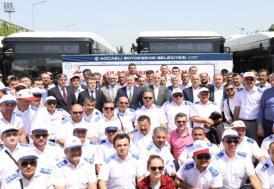 Kocaeli'de toplu taşıma personeline yüzde 45 zam