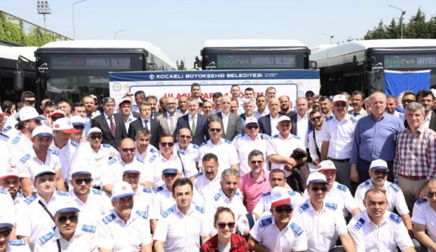 Kocaelide toplu taşıma personeline yüzde 45 zam
