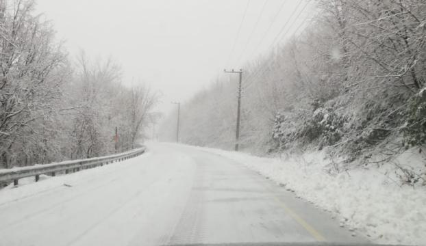 Bolu ve Kocaelide kar yağışı
