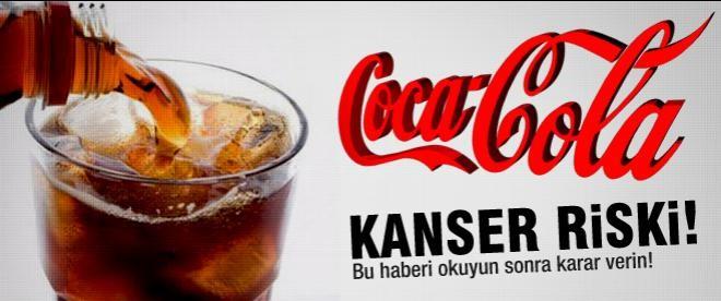 Coca-Cola'da kanser riski