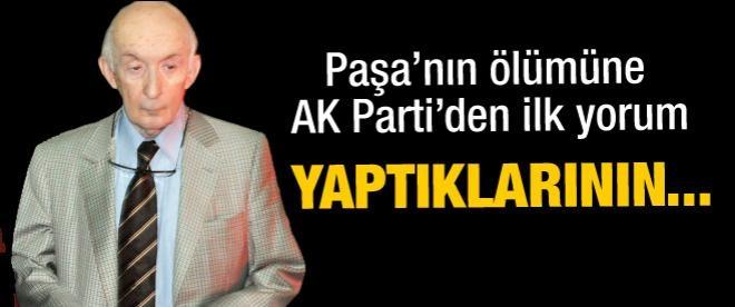 Koman'ın ölümüne AK Parti'den ilk yorum