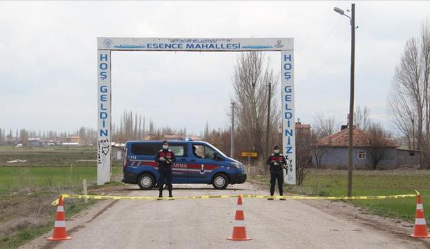 Konyada bir mahalle karantinaya alındı