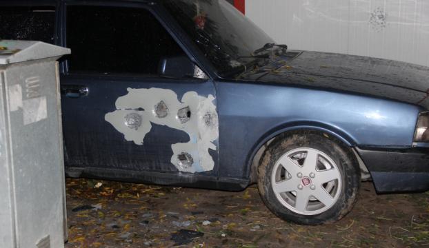 Konyada otomobile ateş açıldı: 1 yaralı
