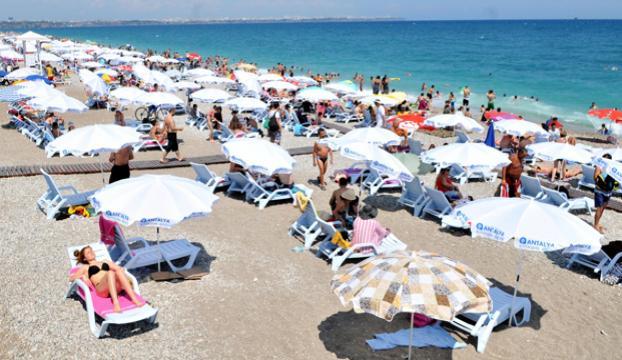 Konyaaltı plajı artık ücretsiz