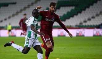 Konya'dan Trabzon'a 1 puan!