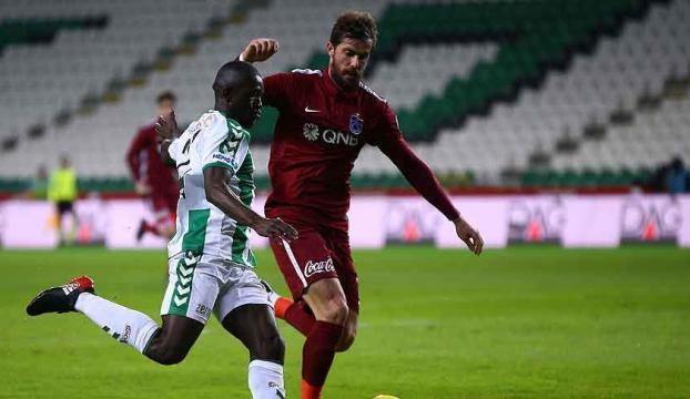 Konyadan Trabzona 1 puan!