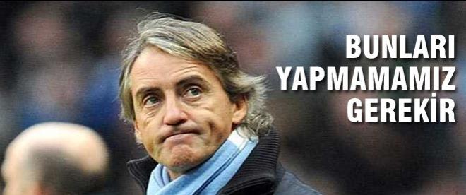 Mancini: Juventus'u yenmemiz gerekecek