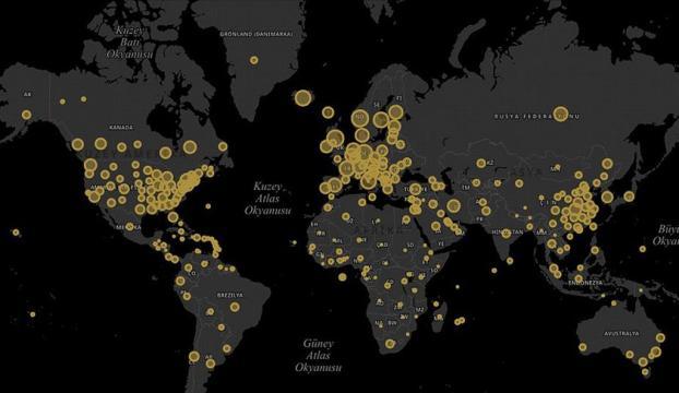 """Cumhurbaşkanlığı Dijital Dönüşüm Ofisinden """"koronavirüs"""" sitesi"""