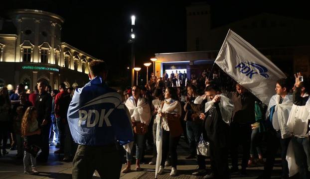 "Kosovada ""PAN"" ittifakı zaferini ilan etti"