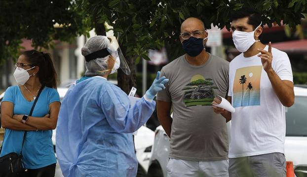 Dünya genelinde Kovid-19 tespit edilen kişi sayısı 26 milyon 214 bini geçti