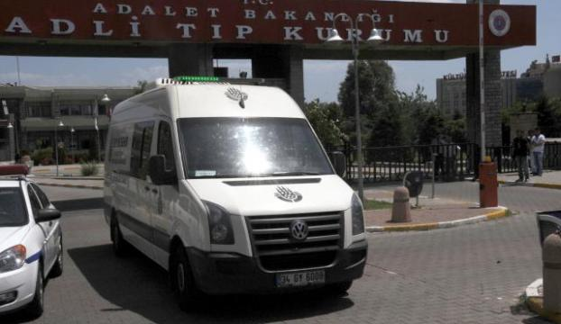 Kozakçıoğlunun cenazesi Adli Tıptan alındı