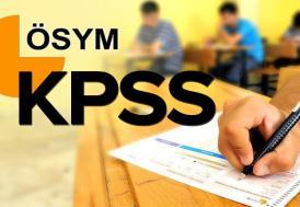 KPSS'ye 1 milyon 234 bin aday girecek