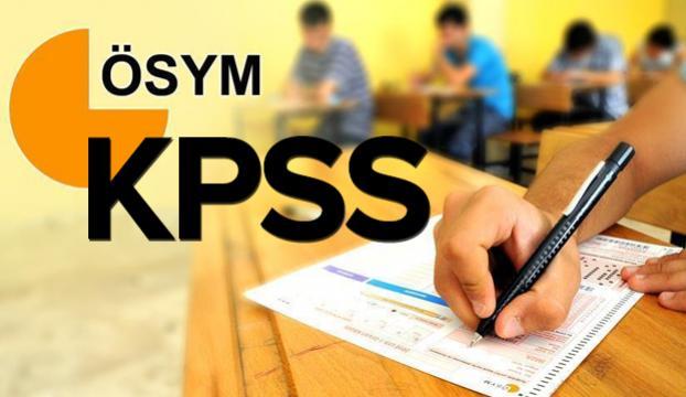 KPSS sınavına giriş belgeleri erişime açıldı