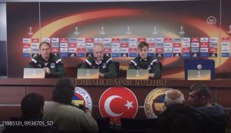 """Shalimov: """"Yarın zor bir karşılaşma olacaktır ama hazırlıklıyız"""""""
