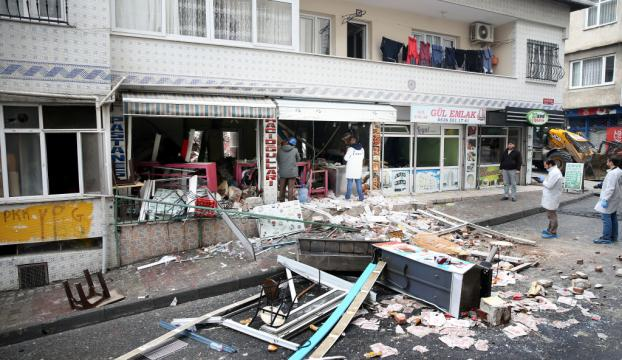 İstanbulda doğalgaz patlaması, yaralılar var!