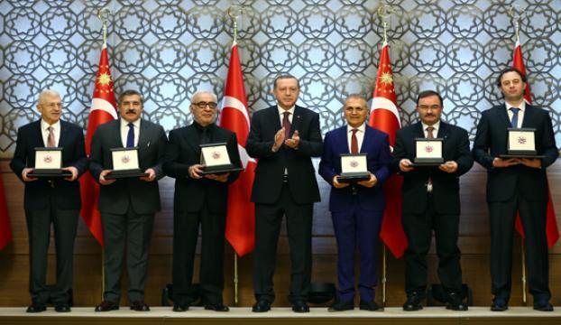 Cumhurbaşkanlığı Kültür ve Sanat Büyük ödülleri sahiplerine verildi