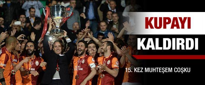 Kupa Galatasaray'ın oldu